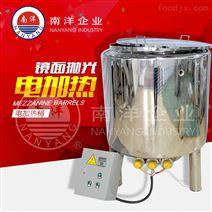 不锈钢夹层电加热恒温桶无搅拌