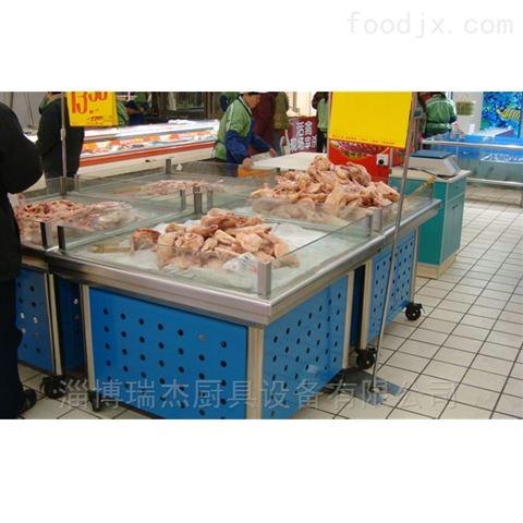 无锡超市不锈钢冰台工厂直接批发