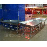 瑞杰厨具设备有限公司订做水产市场超市冰鲜台