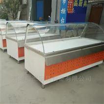 昆山超市常溫不銹鋼熟食柜,組合式轉角柜