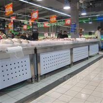 超市简易,冰鲜台