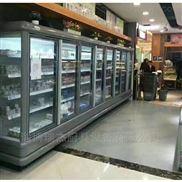 超市风幕柜。