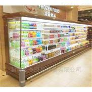超市饮料保鲜风幕柜