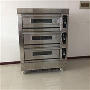 全不锈钢三层六盘蛋糕电烤箱设备