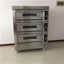 全不锈钢三层六盘蛋糕电烤箱