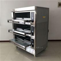 智能三层六盘层式烤箱设备