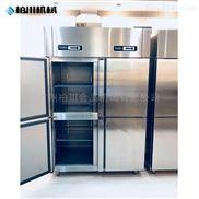 立式四門雙溫冰柜