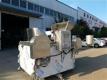 魚豆腐自動出料自動控溫油炸鍋生產線