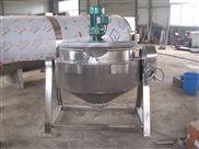 可倾式电加热带搅拌夹层锅