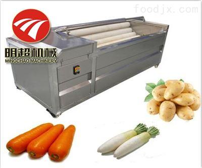 全自动多台组合胡萝卜清洗机流水线供应商