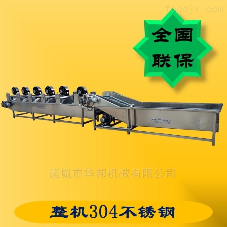 蔬菜清洗流水线设备 产量大 效率高 可定制