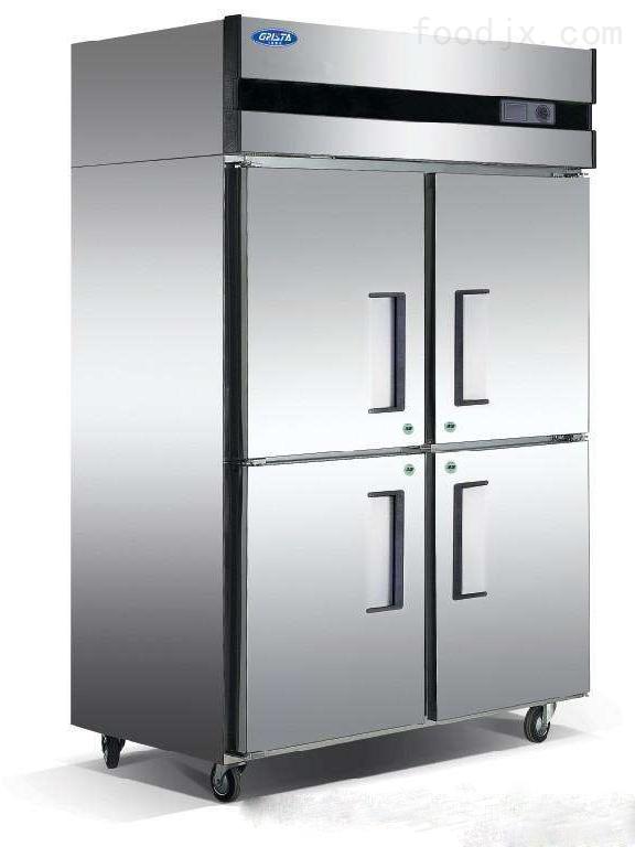 星星格林斯达商用冷冻冷藏四门冰箱