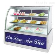 便利店弧形蛋糕展示柜|超市蛋糕保温柜厂家