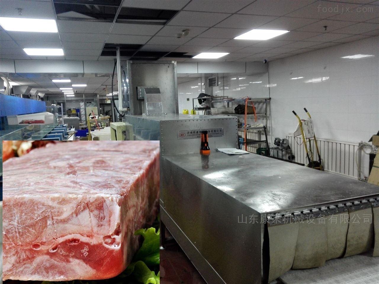 肉制品微波解冻隧道炉,解冻设备厂家