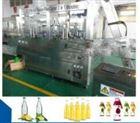 全自动不锈钢玻璃瓶豆奶灌装机