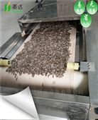 甘肃瓜子微波熟化设备隧道式连续生产