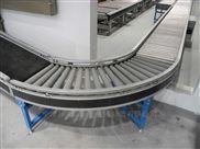 轉彎滾筒輸送機生產廠家 輥筒輸送線設計制造