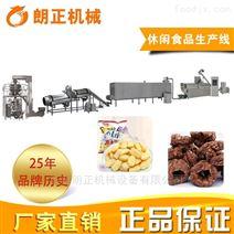 休闲零食夹心米果生产膨化食品设备