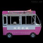 电动四轮移动流动早餐车小吃车加盟店无需