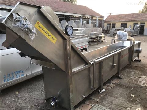 时产2吨鸡爪自动漂烫机