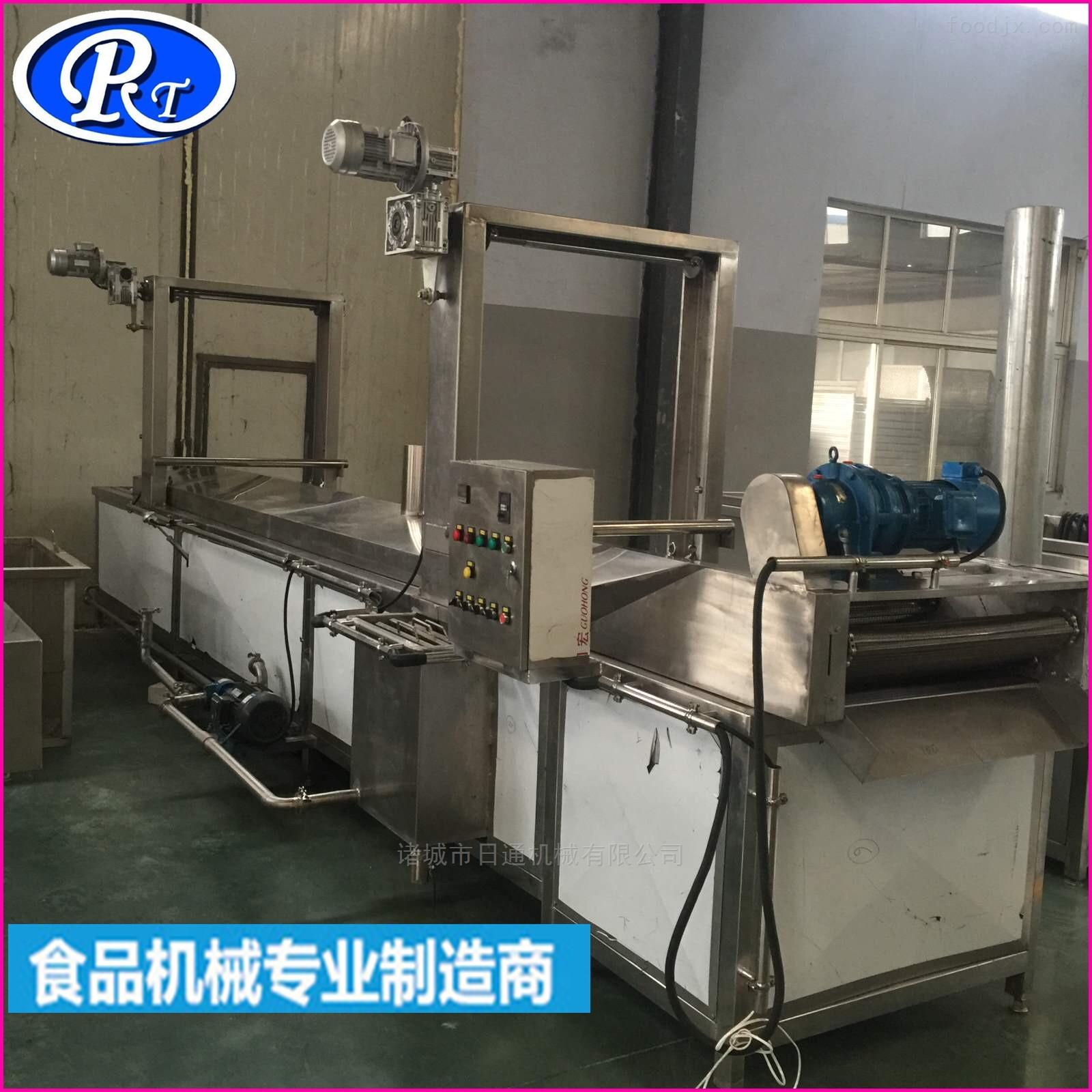豆腐串电加热油炸流水线设备