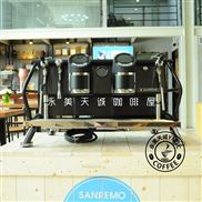 Sanremo/赛瑞蒙cafe racer半自动意式咖啡机