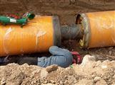 蒸汽管道预制钢套钢保温管