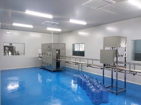 威海供应矿泉水厂罐装车间设计改造净化工程