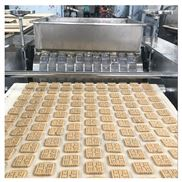 酥餅成型機 桃酥餅干生產線 自動桃酥擺盤機