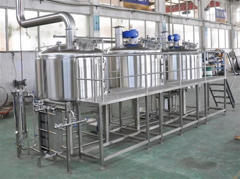 全套啤酒生产设备 啤酒设备
