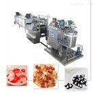 全自動硬糖澆注生產線 糖果機