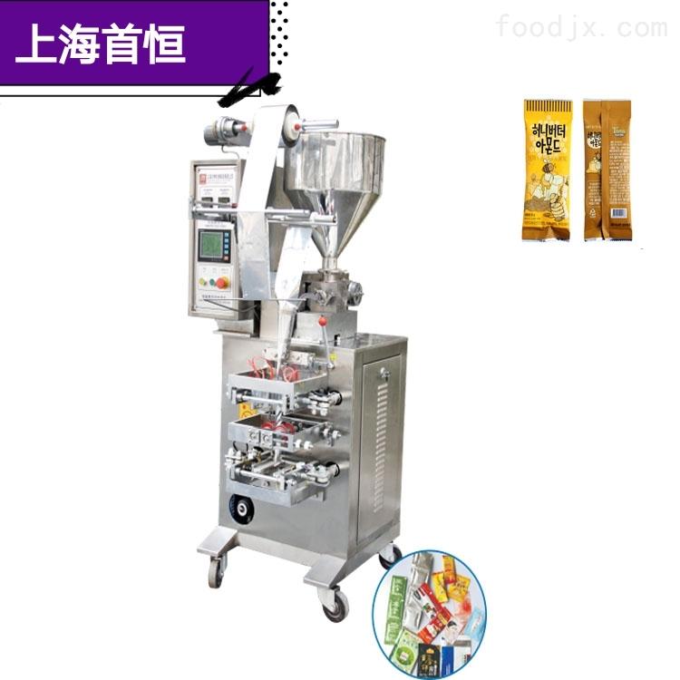 果汁芝麻酱膏体液体自动灌装封口包装机