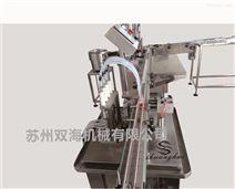 四泵液体灌装旋(轧)盖一体机