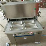 THS-700四川腊肉贴体盒式连续包装机