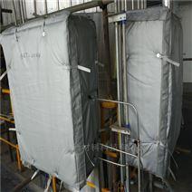 内蒙项目 柔性防火罩 设备保温隔热套