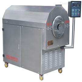 全新全自动高效中小型蚕豆电磁炒货机