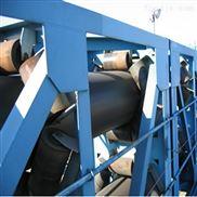 管状皮带机节省空间 固定型管带输送机