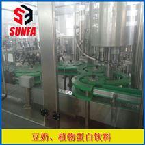 玻璃瓶豆奶饮料生产线