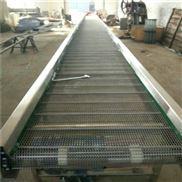 转弯网带输送机各种规格 提升爬坡输送
