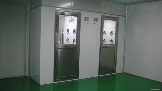 聊城食品厂风淋室的使用