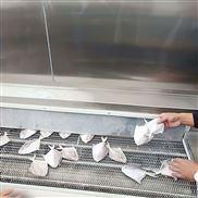 秋葵速冻流水线 面食快速冷冻机