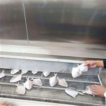 秋葵速凍流水線 面食快速冷凍機