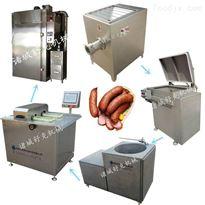 SGC-1000香肠生产全套流水线设备腊肠气动扭结灌肠机