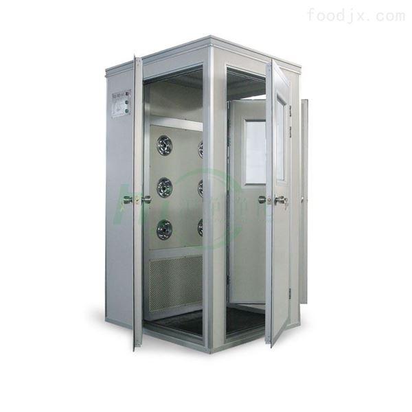 生物工程设备不锈钢单人单吹转角风淋室