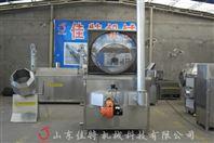 燃气豆腐泡油炸机