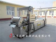 厂家专业制作的豆腐串油炸机适合批量生产