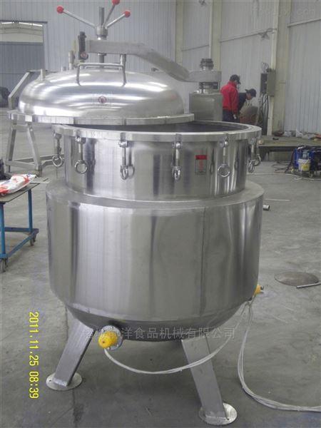 环保型可倾带搅拌夹层锅