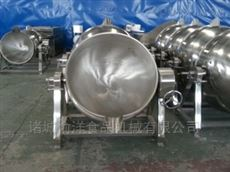 100L蒸汽可倾式夹层锅自动出料