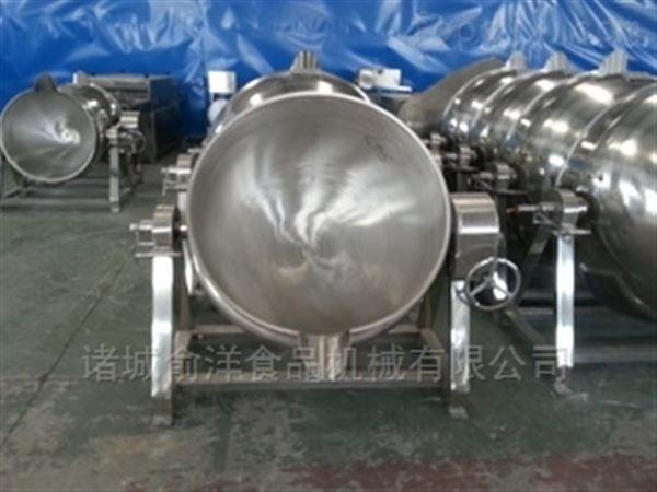 蒸汽可倾搅拌式夹层锅