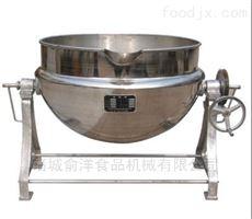 400L咸鸭蛋蒸气式可倾夹层锅